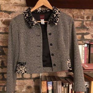 Kenzo Tweed Vintage Blazer